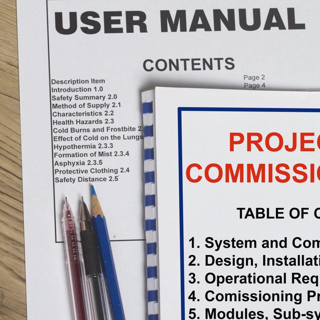 Nous fournissons la documentation produit