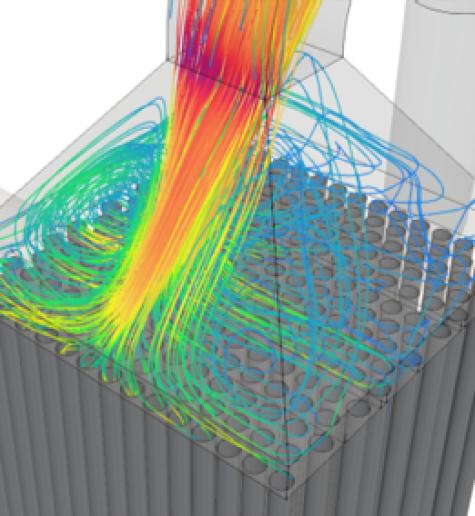 Simulation de flux CFD